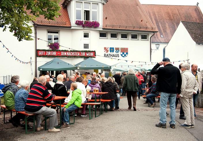 Dorffest in Öhningen immer Anfang September