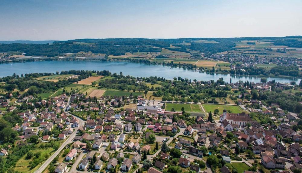 Öhningen und Blick zur Schweiz